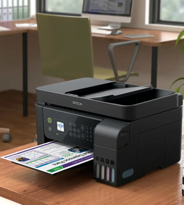 Review of Epson EcoTank ET-4700 Print/Scan/Copy/Fax Wi-Fi Printer