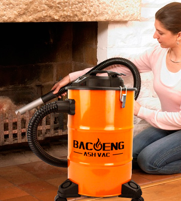 Review of BACOENG Ash Vacuum Cleaner with Double Stage Filtration System