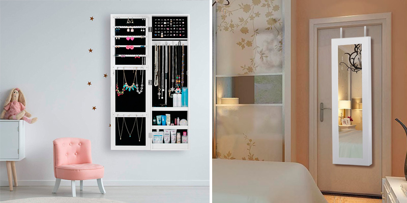 Review of Ezigoo JC-05 Jewellery Cabinet with Mirror