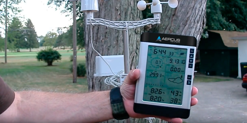 Review of Aercus Instruments WS2083 Professional Weather Station with Internet Upload