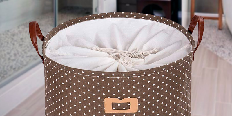 "Review of DOKEHOM DKA0822BNL 19"" Thickened Large Laundry Basket"