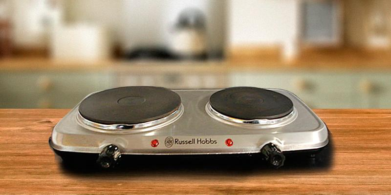 Russell Hobbs 15199 Double Hot Plate in the use