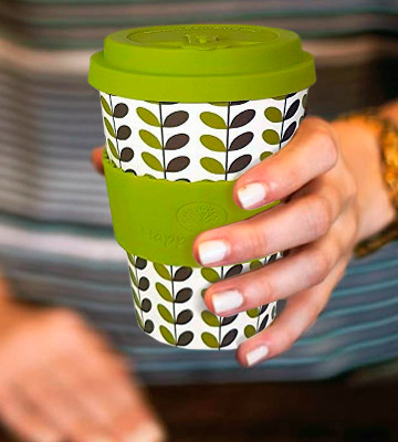 Review of Happy Earth LEAVES Reusable Eco-Friendly Coffee Cup