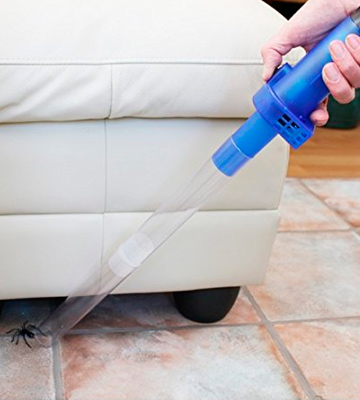 Review of Katcha Bug Buster Spider Vacuum