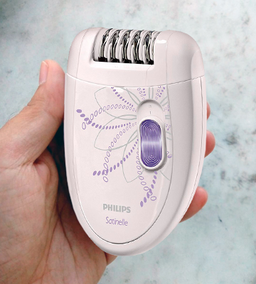 Review of Philips HP6403/00 Satinelle Corded Epilator