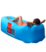 AngLink Inflatable Lounger Portable Air Sofa Couch bed Nylon Waterproof