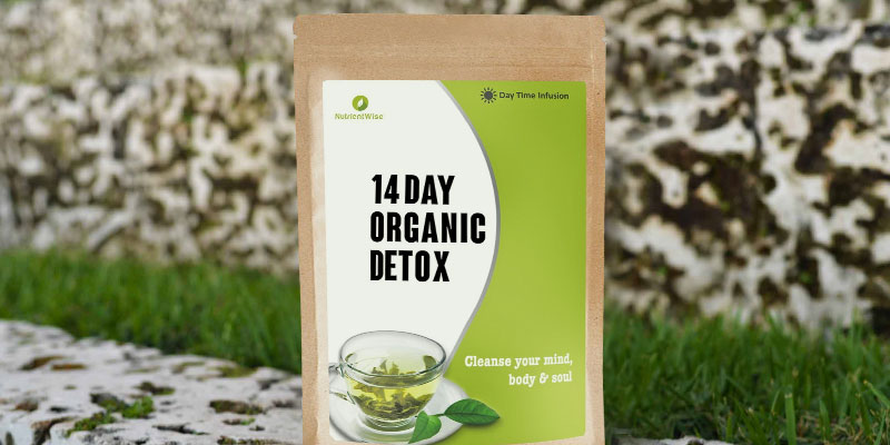 Nutrient Wise Green Detox Tea in the use