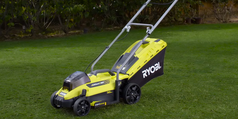Review of Ryobi OLM1833H ONE+ 18V Lawnmower