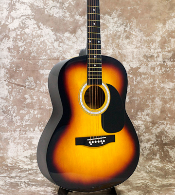 Review of Martin Smith W-100-SB-PK Acoustic Guitar Package