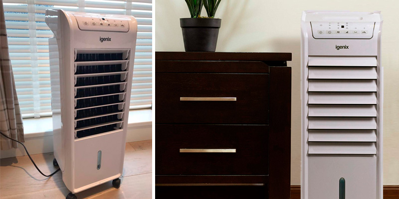 Review of Igenix IG9703 Air Cooler with LED Display
