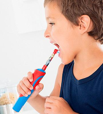 Review of Oral-B Stages Vitality Electric Toothbrush for Kids