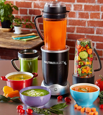 Review of Nutribullet Rx Blender and Food Processor