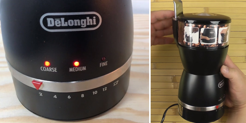 Review of De'Longhi KG49 12-Cup Coffee Grinder