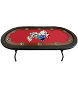 Redtooth Poker PT 10-Seat Speed Cloth Poker Table