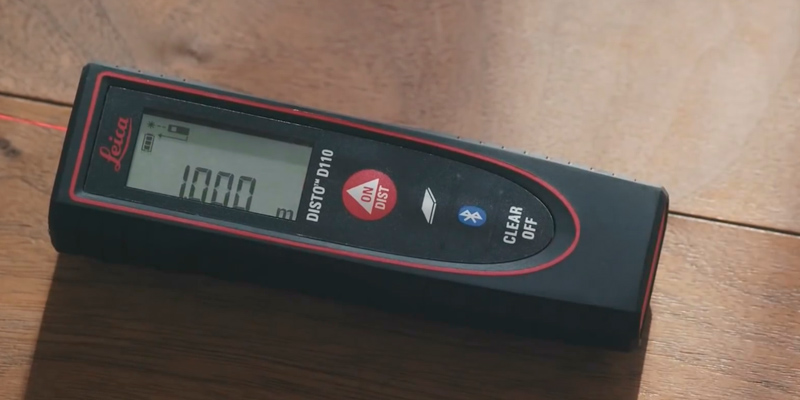 Leica Geosystems D110 Laser Distance Measure in the use