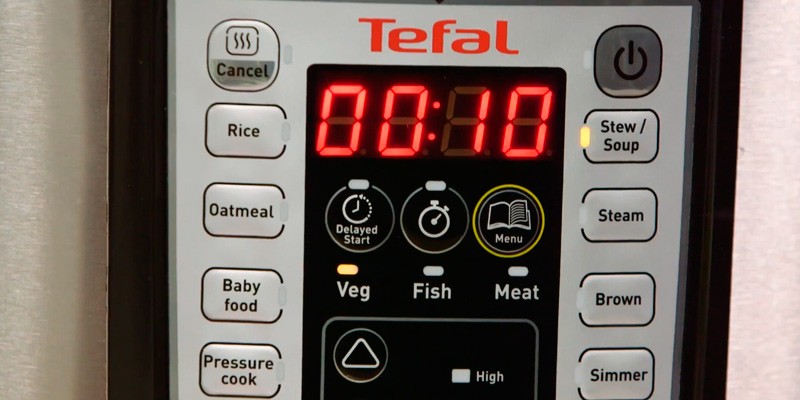 Tefal CY505E40 All-in-One Electric Pressure/Multi Cooker in the use