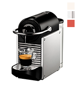 Nespresso Pixie Aluminium by Magimix Coffee Machine