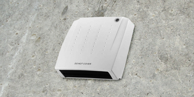 BARGAINS-GALORE 2000W Downflow Wall Mounted Fan Heater in the use
