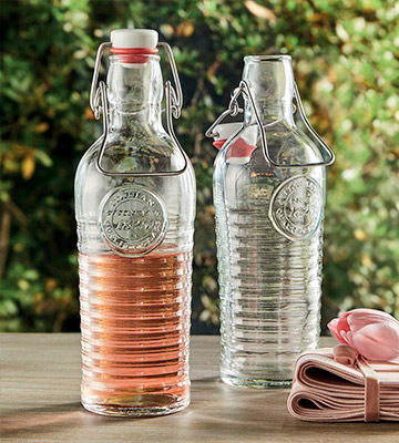 Review of Bormioli Rocco Officina 1825 Vintage Flip Top Glass Bottle