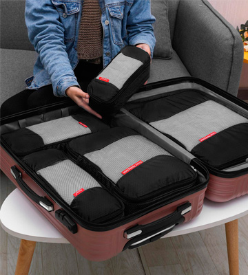 Review of Gonex Travel Packing Cubes