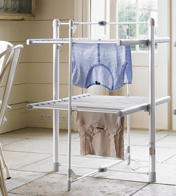 Review of Dry:Soon 2-Tier Heated Tower Airer Under 4p / Hour!