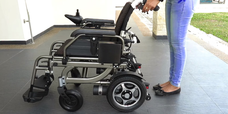 Wheelchair88 PW-777PL Electric Power Wheelchair in the use