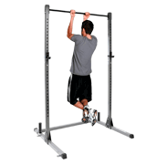 DTX Fitness Squat Rack Power Cage With Pull Up Bar