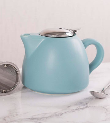 Review of La Cafetiere Barcelona Ceramic Infuser Teapot