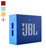 JBL GO+ Portable Rechargeable Bluetooth Speaker with Aux-In Compatible, Blue