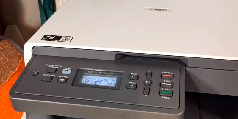 Brother DCP-L3510CDW Colour Laser Printer (Wireless) in the use
