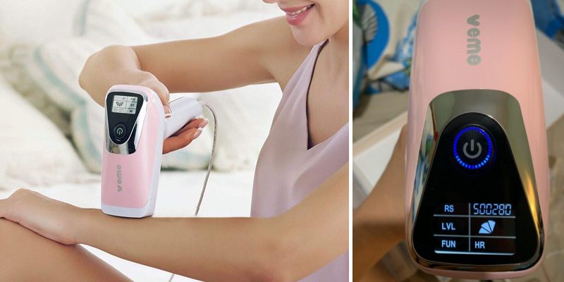 Review of VEME IPL Hair Removal Device for Women and Men (up to 500,000 flashes)