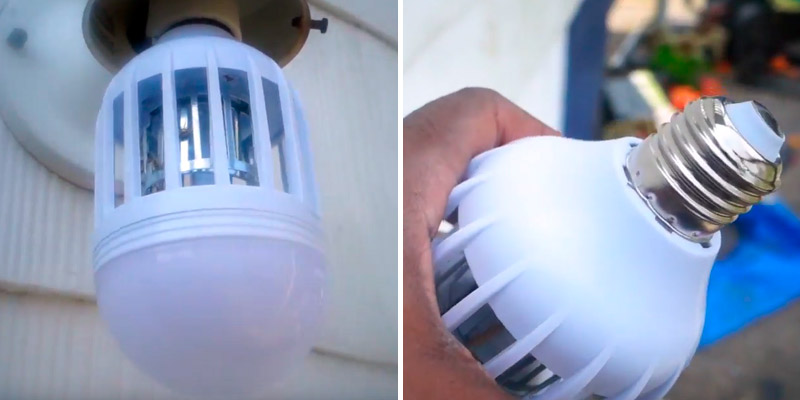 Review of Teepao Bug Zapper Light Bulbs 2 in 1 LED Anti-Mosquito Lamp
