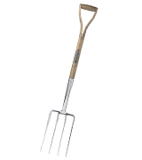 Spear & Jackson 4550DF Traditional Stainless Steel Digging Fork