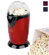 Party Time EK1524R Healthy Fat Free Electric Hot Air Popcorn Maker