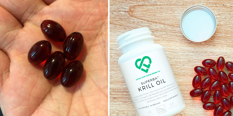 Review of Love Life Supplements 500mg Krill Oil