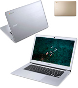Acer Chromebook (CB3-431) 14 Full HD Laptop (Intel Celeron N3160, 4GB RAM, 32GB eMMC)