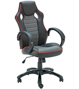 X Rocker Leather Effect Effect Gaming Chair