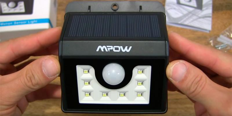 Review of Mpow LED Solar Motion