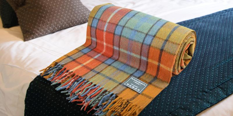 Review of The Tartan Blanket Co. Wool Blanket