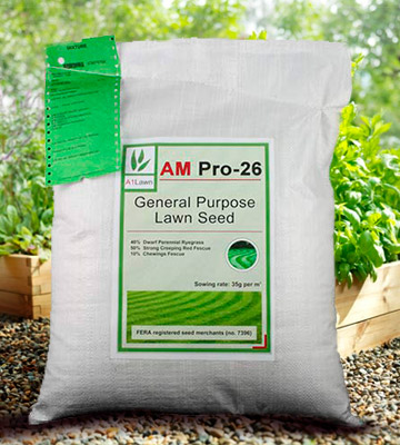 Review of A1LAWN AM-PRO 26 Top Quality Lawn Grass Seed General Purpose