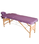 HomCom Purple Massage Table