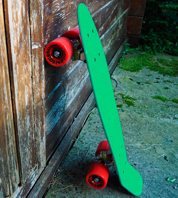 Review of Ridge 27 Inch Big Brother Retro Cruiser Skateboard