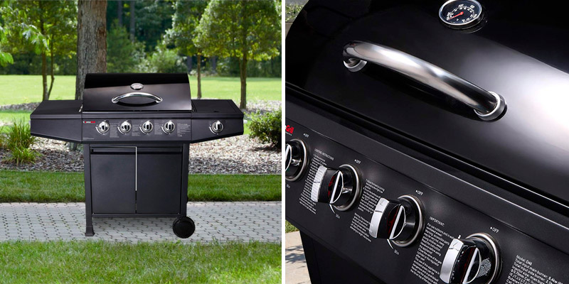 Review of CosmoGrill 4+1 Gas Burner Garden Grill