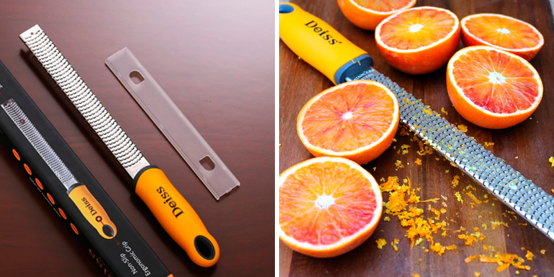 Review of Deiss BCM31401 PRO Citrus Lemon Zester & Cheese Grater