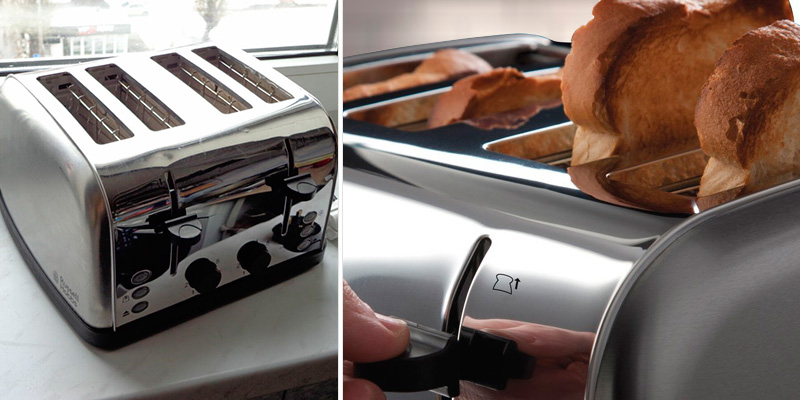 Review of Russell Hobbs 18790 Futura 4-Slice Toaster