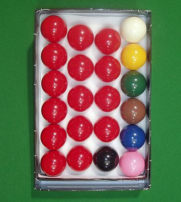 Review of Iqgamesroom Full Size Snooker Ball Set