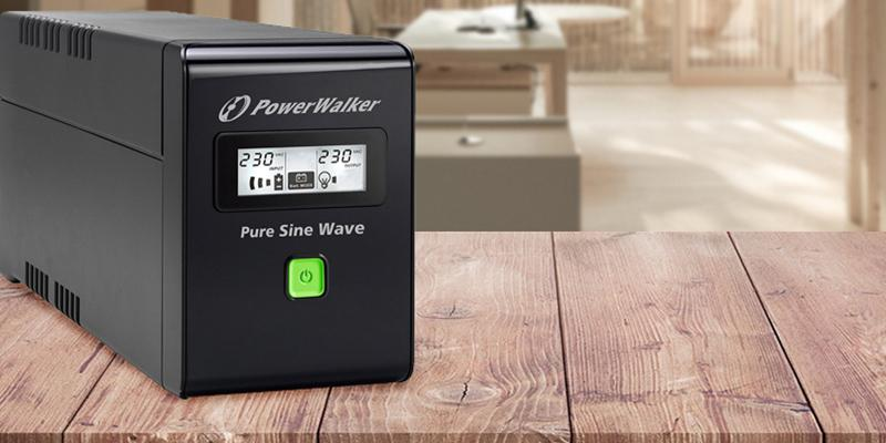 Review of PowerWalker VI 800 SW/UK Pure Sine Wave Uninterruptible Power Supply