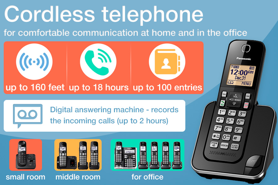 Comparison of Cordless Phones