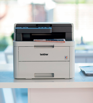 Review of Brother DCP-L3510CDW Colour Laser Printer (Wireless)