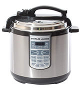 Charles Jacobs COOKER-MK216-SIL Electric Pressure Cooker